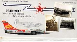 FRANCE BLOC SOUVENIR N° 139 75è  Anniversaire   Du Régiment  De Chasse Normandie Niémen ** LUXE Sous Blister - Souvenir Blokken