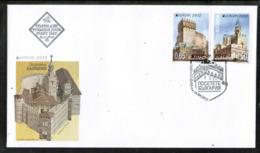CEPT 2012 MI 5032-33 BULGARIA FDC - 2012