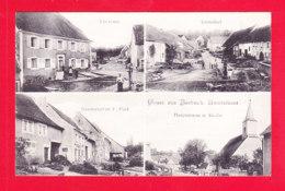 E-Allemagne-661Ph76  BURBACH, Multivues, Cpa BE - Allemagne