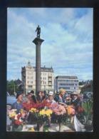 Trondheim. *The Flower Market* Circulada Trondheim 1965. - Noruega