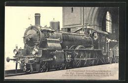 AK Eisenbahn, 2-B Heissdampf-Schnellzuglokomotive, 419 - Trains