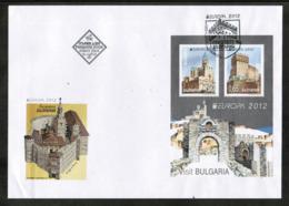 CEPT 2012 BG MI BL 354 BULGARIA FDC - Europa-CEPT