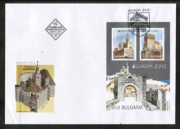 CEPT 2012 BG MI BL 354 BULGARIA FDC - 2012