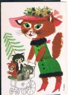 Chat Humanisé-dressed Cat -katzen -geklede Poes - Gatto- - Katten