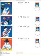 France:Prêts à Poster Agrément 889 Specimen (4 Enveloppes Avec Les Cartes) - Specimen
