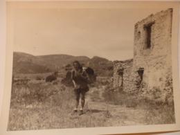 Photo (22/16,5cm) De Corbières (04). - Lugares