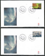CEPT 2012 GL MI 613-14 GREENLAND FDC - 2012