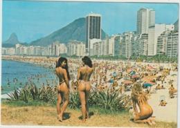 Brésil , Brasil : Rio De Janeiro , Plage Copacabana , Belle  Femme , Timbre - Copacabana