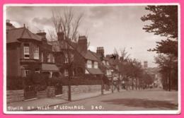 Cp Photo - Tower Road West St Leonards - Edit. W.J. WILLMET - 1913 - Inghilterra