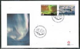CEPT 2012 GL MI 615-16 GREENLAND FDC - Europa-CEPT