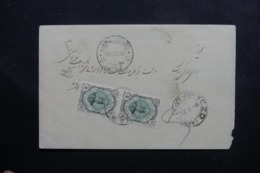 IRAN - Enveloppe De Kirman  En 1920, Affranchissement Plaisant - L 46091 - Irán