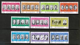 ST. VINCENT  Scott # 435-44a** VF MINT NH INCLUDING Souvenir Sheet (SS-452) - St.Vincent (...-1979)
