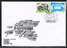 CEPT 2012 EE MI 733-34 ESTONIA FDC - Europa-CEPT