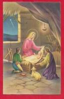 CARTOLINA VG ITALIA - BUON NATALE - Sacra Famiglia - P. VENTURA - CECAMI 4392 - 9 X 14 - 1959 - Altri