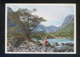 *Romsdal Ved Flatmark* Circulada Bergen 1957. - Noruega