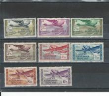 Timbres équatoriale N°  Poste Aérienne N° 30-31-32-33-34-36-37- - A.E.F. (1936-1958)