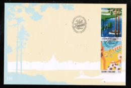 CEPT 2012 FI MI 2179-80 FINLAND FDC - Europa-CEPT