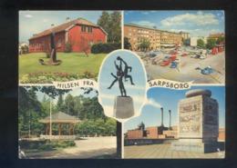 Sarpsborg. *Hilsen Fra Sarpsborg* Circulada Sarpsborg 1971. - Noruega