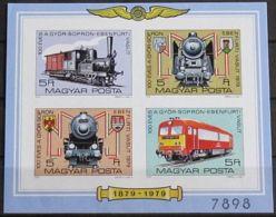 UNGARN 1979 Mi-Nr. Block 139 B ** MNH - Hojas Bloque