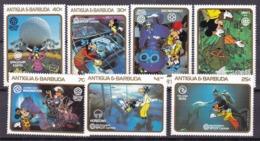 Antigua Barbuda Disney Set MNH - Disney