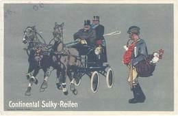 TB Continental Sulky-Reifen - Werbepostkarten