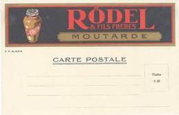 TB Rödel & Fil Frères, Moutarde - Werbepostkarten