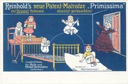TB Reinhold's Neue Patent-Matratze «Primissima» ( Matelas ) - Werbepostkarten