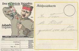 TB Asbach Cognac ( Soldat Allemand ) - Werbepostkarten