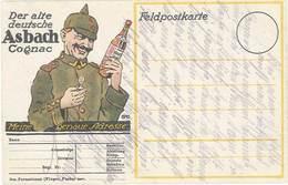 B Asbach Cognac ( Soldat Allemand ) - Werbepostkarten