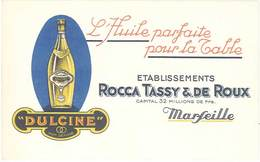 TB Dulcine – L'Huile Parfaite ..- Rocca Tassy & De Roux Marseille - Werbepostkarten