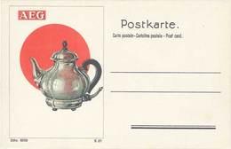 TB AEG, Cafetière - Advertising