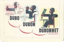 B Dubonnet, Cassandre - Werbepostkarten