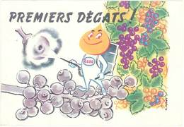 TB Esso, Premiers Dégâts, Signée Collet - Werbepostkarten