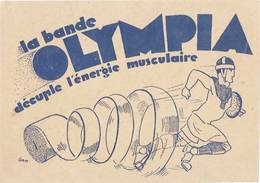 B La Bande Olympia, Signée Gem ( Joueur De Rugby ) - Advertising