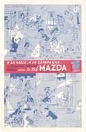 TB La Pile Mazda ( Lampe électrique ) - Werbepostkarten