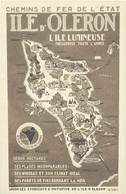 B Chemins De Fer De L'Etat, Ile D'Oléron - Publicidad