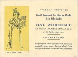 TB Léo Lelée – Arles, Bal Mireille 1937 - Pubblicitari