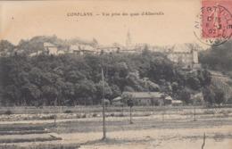 Cp , 73 , CONFLANS , Vue Prise Des Quais D'Albertville - Albertville