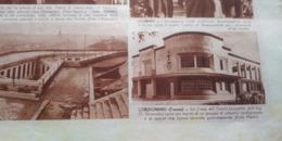 GAZZETTINO ILLUSTRATO 1936 CORDIGNANO ISOLA DI LAGOSTA CROAZIA - Libros, Revistas, Cómics