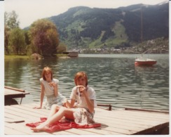 Little Girls On The Seaside Unused (real Photo, Postcard Size) - Szenen & Landschaften