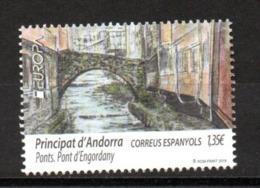 Europa CEPT 2018 Spanish Andorra Bridges MNH - 2018