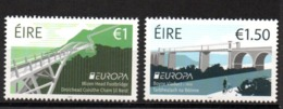 Europa CEPT 2018 Ireland EIRE Bridges MNH - 2018