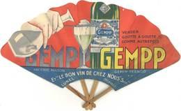 B Eventail Pub Gempp Pernod, Lunel ( Post Absinthe ) - Sport