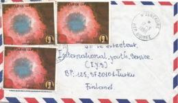 Guinee Guinea 1990 N'zerekore Comet Halley Cover - Guinea (1958-...)
