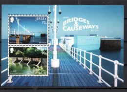Europa CEPT 2018 Jersey M/S S/S Bridges MNH - 2018