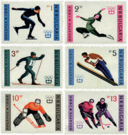 Ref. 249670 * HINGED *  - BULGARIA . 1964. IX OLYMPIC WINTER GAMES. INNSBRUCK 1964. 9 JUEGOS OLIMPICOS DE INVIERNO. INNS - Bulgaria