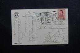 ARGENTINE - Carte Postale ( Rancho ) Pour L 'Italie En 1917 Avec Cachet De Censure Italienne - L 46104 - Argentinien