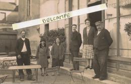TRÉ BELLE CARTE PHOTO DE CHENOVE - Café LUCOTTE - Anciennement Café De La Place - Chenove