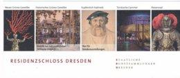 BRD Dresden Eintrittskarte 2017 Residenzschloss Grünes Gewölbe Türkische Cammer Riesensaal Kupferstich-Kabinett - Eintrittskarten