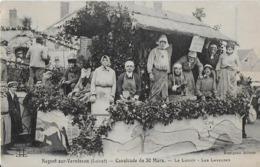 NOGENT Sur VERNISSON (Loiret) : Cavalcade Du 30 Mars- Le Lavoir -Les Laveuses - Francia